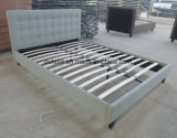 Ткань платформа одна односпальная кровать спальня мебель (ПР)17165
