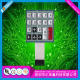 Выполненный на заказ переключатель мембраны панели касания кнопочных панелей Pet/PC для машины