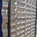 Кристаллический частица/волокно/липкий материальный средств теплообменный аппарат плиты свободного движения огромной разницы нержавеющей стали