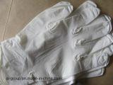 Blaues Puder-freie medizinische Nitril-Handschuhe für Prüfung