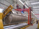 Terminar el equipo de soldadura de aluminio del tanque para el tanque de almacenaje de gas de combustible