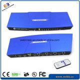 Port-HDMI Kvm Schalter des Schreibtisch-4 mit Aluminiumgehäuse