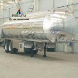 Almacenamiento de agua y combustible líquido de camiones cisterna de Transporte Semi tanque de acero inoxidable