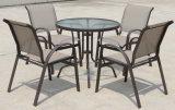 椅子を食事する屋外の庭の家具のテラスの金属のチェアーテーブルのWestinの商業吊り鎖のテラス