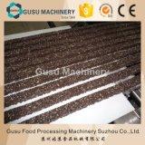 Composé d'aliments de collation des arachides couvertes de chocolat barre de céréales machine de formage