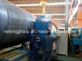 Macchina esterna ed interna del tubo d'acciaio della parete di pulizia di granigliatura