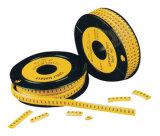 Отметки кабеля PVC Ec-1 желтые
