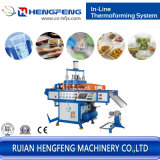 Автоматический штабелируя пластичный контейнер еды формируя машину (HFTF-2023)