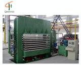 Mélamine courte de cycle feuilletant la machine chaude de presse pour le bois