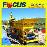 planta de tratamento por lotes concreta móvel do melhor preço 25m3/H, mini planta de tratamento por lotes