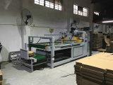 Machines ondulées d'emballage de Gluer de dépliant de cadre