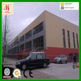 Magazzini della fabbrica della struttura d'acciaio per l'esportazione