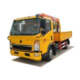 Sinotruck Rhd HOWO Camion-benne avec grue 6 volume de chargement de camion à benne roue capacité de vente à Dubaï