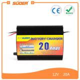 Suoer Переключение режима зарядное устройство 12V 20A зарядное устройство с Трехфазный режиме зарядки (MAD-1220A)