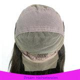 Freier Trennmit hoher schreibdichtemedium bedeckt volles Spitze-Perücke-Haar mit einer Kappe