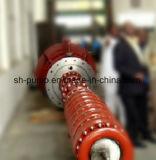Bomba de água de transporte centrífuga de vários estágios vertical