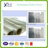 Telas tejidas ignífugas del papel de aluminio/del aislante de calor/aislante del paño de acoplamiento de la hoja