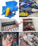 Einzelner Welle-Abfall-Plastikaufbereitenreißwolf-Maschine