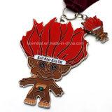 Venta caliente Zombie de la medalla de la ejecución de metal personalizados