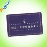 Cartão do PVC da cor cheia