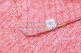 Yarn-Dyed編むフランネルの羊毛毛布の赤ん坊毛布