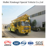 22m Dongfengのユーロ4の空気作業プラットホームのトラック
