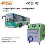 Máquina interior de la limpieza del carbón del motor diesel del carro pesado