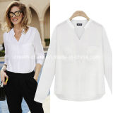 Mode Femme Vêtements Casual Blouse Vêtements T-shirt Sweater Ladies Dress (Dream-100096)