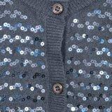 Sequins-Wolljacke des niedrige Kosten-acrylsauermädchens mit langen Hülsen