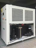 Refroidisseur d'eau à refroidissement par air de 38kw / 59kw avec plaque échangeur de chaleur pour la surface