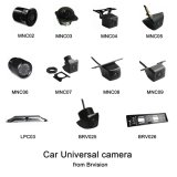 小型の車の背面図のカメラ