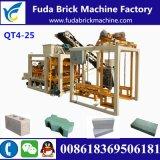 Macchina completamente automatica del mattone della macchina/pavimentazione del blocchetto della pietra del bordo di media Qt4-25