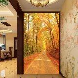 Het digitale Afgedrukte Chinese Olieverfschilderij Greenway voor de Decoratie van de Vestibule