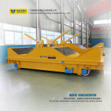 Transporte elétrico da fábrica com o portador liso do trilho para a indústria