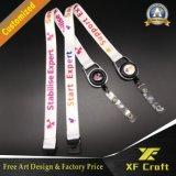 선전용 방아끈 중국 도매 (XF-LY05)를 인쇄하는 선물에 의하여 인쇄되는 목 방아끈 Custom&Polyester