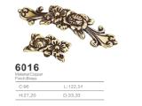 Tirón de cobre amarillo antiguo de la maneta de la cabina del tirón de la maneta 2016 (6016)