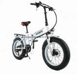 500W plegable ocultos de la batería Fat Bike Cruiser