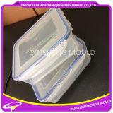 Molde de recipiente para alimentos de injeção de plástico