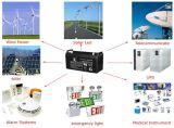 Resiste temperaturas de 12V 200Ah batería solar de gel de China