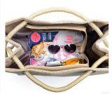 2017 новый сезон рекламной джута Бич женская сумка (BDX-161020)