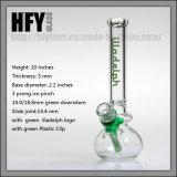 Hfy GlasIlladelph Glassbong Pipeglass Wasser-Rohr-Huka-Großverkauf-Glaspfeife