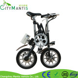Складывая велосипед с рамкой сплава
