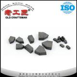 Inserções de giro soldadas duras do carboneto cimentado do tungstênio da liga do projeto novo