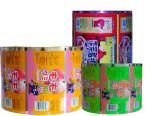 L'abitudine ha stampato la pellicola di rullo laminata alluminio di imballaggio per alimenti per lo spuntino