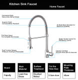 Flg nickel brossé Tirez sur le robinet de cuisine/tap/Mixer