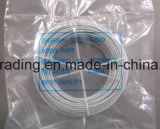 7*7 3.0mm a galvanisé la corde de fil d'acier