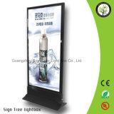 자유로운 서 있는 가벼운 상자를 광고하는 LED 알루미늄 사진술