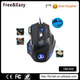 Right Hand Ergonomic 7D Optical Wired USB Gaming Mouse