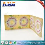 40*16mm de Anti-diefstal UHF Passieve RFID CD DVD Sticker van het Etiket
