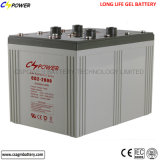 Batterie industrielle profonde 2V 2000ah de batteries d'accumulateurs de cycle